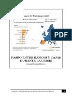 Paseo Entre Bancos y Cajas Durante La Crisis