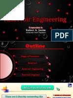 Reservoir  Engineering (Kaiser A. Jasim 2019) اساسيات هندسة المكامن