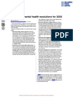 6 simple mental health resolutions for 2020 - Fairfax Chief