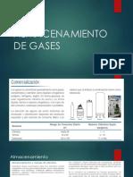 ALMACENAMIENTO DE GASES
