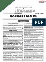 ley para evaluacion de riesgos para servicio de agua y desague