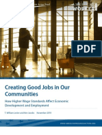Creating Good Jobs in Our Communities