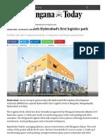 telanganatoday-com-ancon-hmda-launch-hyderabads-first-logistics-park