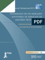 20 Desarrollo de un Mercado Sostenible de Servicios