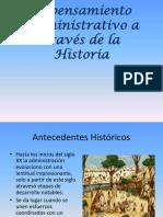 3 PENSAMIENTO ADMINISTRATIVO EN LA HISTORIA.pptx