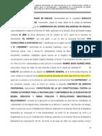 CONTRATO  SERV PROF APS CONSULTORES & ASOC C
