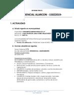 INFORME PREVIO PROYECTO ALARCON