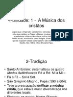 5.1 música renascentista música clássica