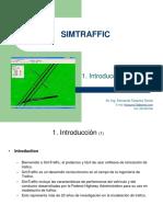 1. SIMTRAFFIC Introduccion