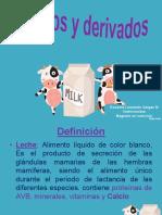 Clase 6 Lácteos y derivados