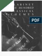 Clarinette (répertoire classique)