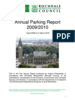Rochdale Annual Parking Report 0910