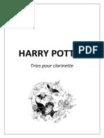 HARRY POTTER (TRIOS POUR CLARINETTE)