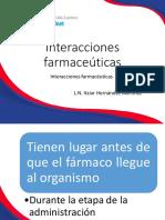 9. Interacciones farmaceúticas