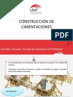 CONSTRUCCIÓN DE CIMENTACIONES