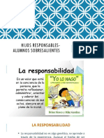 RESPONSABILIDAD, orientaciones para padres.
