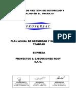 Plan y Programa Anual de Sst 2020