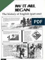 história da lingua inglesa pdf