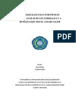 Refleksi kasus + Portofolio (Emerald lt.4)