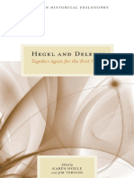 (Topics in Historical Philosophy) Karen Houle, Jim Vernon - Hegel and Deleuze_ Together Again for the First Time-Northwestern University Press (2013)
