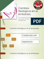 Modificaciones del embarazo presentacion 2020
