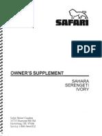 1996 Safari Owner