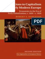 (New Approaches To European History) Robert S. DuPlessis - Transitions To Capitalism In Early Modern Europe_ Economies In The Era Of Early Globalization, C. 1450 - C. 1820-Cambridge University Press (