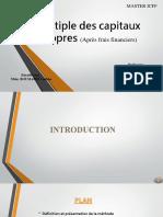 Multiple des capitaux propres