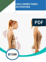 Ejercicios correctores de postura