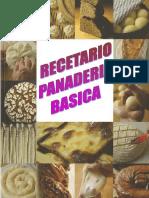 RECETARIO de panadería pastelería y repostería