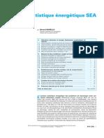 Analyse statistique énergétique SEA