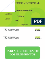 Química General Ing. Industrial S3