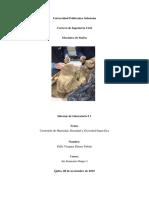 Informe 1 Mecanica de suelos