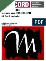 Emil Ludwig - Colloqui con Mussolini-Mondadori (1965).pdf