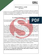 La ponencia completa que contiene las irregularidades en campaña de Humberto de la Calle