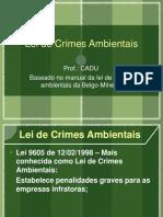 Lei de Crimes Ambientais