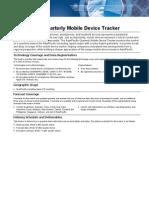 IDC Factsheet_Quarterly Mobile Device Tracker