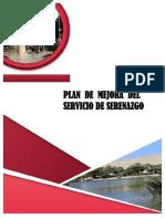PLAN DE MEJORAS DEL SERVICIO DE SERENZGO
