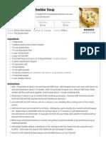 Creamy Broccoli Cheddar Soup - The Chunky Chef.pdf