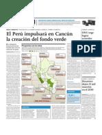 El Perú impulsará en Cancún la creación del fondo verde