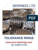TOLERANCE RINGS