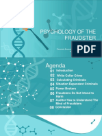 Psychology of Fraudster