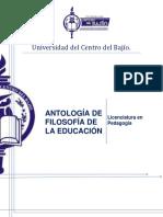 GUIA DE ESTUDIOS DE FILOSOFIA DE LA EDUCACIÓN 4A