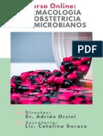 CURSO FARMACOLOGIA EN OBSTETRICIA ANTIMICROBIANOS