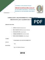 MANTENIMIENTO CALDEROS- ORIGINAL