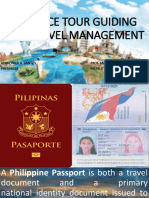 ADVANCE TOUR GUIDING AND TRAVEL MANAGEMENT