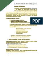 Resumen Prueba de Grado Psicoterapia (2013)