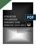 Struktur Organisasi Himabes Ugm