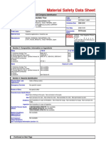 MSDS Acetate Tow