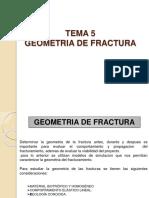 GEOMETRIA DE FRACTURA